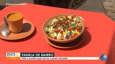 Panela de Bairro ensina receitas à base de bacalhau; veja o preparo - Conheça o bacalhau sertanejo e o caldo de bacalhau de dona Ana, do Garcia.
