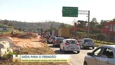 Rodovias do Brasil estão cheias nesse começo de feriado prolongado - Ainda é preciso continuar com os cuidados de isolamento social e uso de máscara para reduzir a propagação da Covid-19.