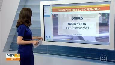 Quadro de horários dos ônibus e do metrô é alterado - Mudanças aconteceram por causa da flexibilização, em Belo Horizonte.