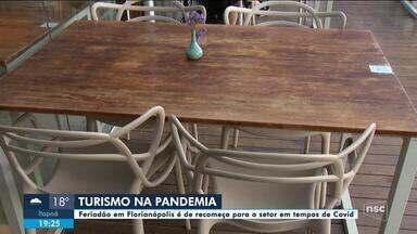 Feriadão em Florianópolis é de recomeço para o setor em tempos de pandemia - Feriadão em Florianópolis é de recomeço para o setor em tempos de pandemia