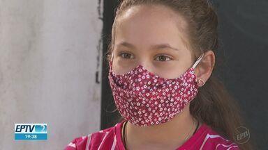 Criança pede doações a famílias carentes como presente de aniversário em Franca, SP - Maria Eduarda de Moraes, de 10 anos, surpreendeu a família com o pedido.