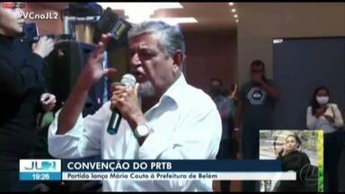 PRTB lança Mário Couto como candidato à prefeitura de Belém - PRTB lança Mário Couto como candidato à prefeitura de Belém