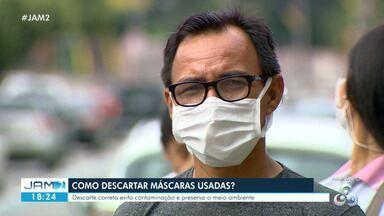 Como descartar máscaras usadas? - Descarte correto evita contaminação e preserva o meio ambiente