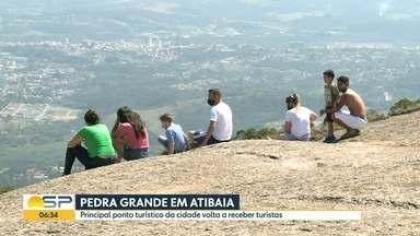 Parque estadual da Pedra Grande reabre para visitação - Principal ponto turístico de Atibaia estava fechado por causa da pandemia