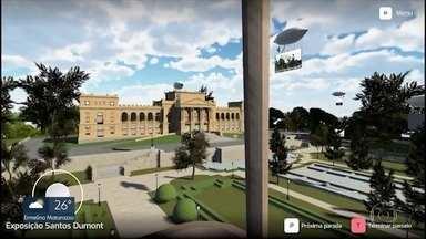 Museu do Ipiranga lança aplicativo para passeio virtual - Programa desenvolvido pela USP oferece ao visitante sobrevoo pelos jardins do museu e visita a duas exposições. Reforma deve ficar pronta só em 2022.