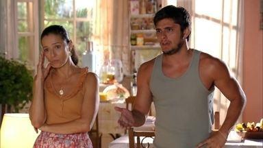 Bibiana se desespera com o sumiço de Donato - O policial acusa Donato de ter causado o acidente com os turistas