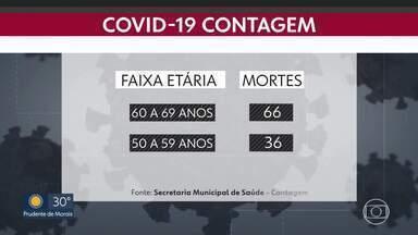 Prefeitura de Contagem faz mapeamento da Covid-19 - Jovens e adultos são quem mais se infecta. Idosos desenvolvem casos mais graves e morrem mais.