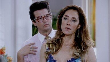 Tereza Cristina perdoa Marilda - A doméstica afirma que sabe tudo sobre a ligação entre a patroa e Ferdinand, e Pereirinha entende por que a amante quer se livrar do segurança. Marilda não acredita no perdão da perua
