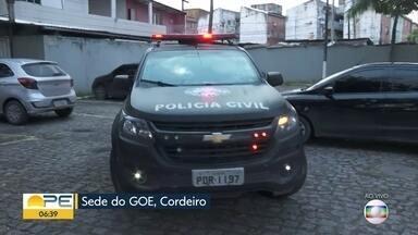 Polícia Civil faz operação contra suspeitos de incêndios a ônibus no Grande Recife - Quadrilha também é investigada por outros crimes.