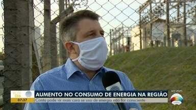 Consumo de energia aumenta em cidades do Oeste Paulista - Conta pode vir mais cara se uso de energia não for consciente.
