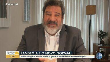 Mário Sérgio Cortella fala sobre as mudanças que a pandemia tem causado na sociedade - Confira a entrevista com o professor, escritor e filósofo.