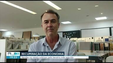 Vendas no varejo sobem pelo terceiro mês seguido no Sul e Costa Verde do Rio de Janeiro - Pesquisa mensal no comércio apontou um aumento de 5,2% nas vendas de julho, em relação ao mês anterior.