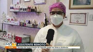 Assistente remoto é uma das novas oportunidades de trabalho criadas na pandemia - Serviço de organização de agenda pode ser feito à distância.