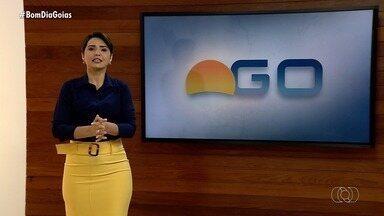 Confira os destaques do Bom Dia Goiás de segunda-feira (14) - Hospital Regional de São Luís de Montes Belos está com 119 vagas abertas; veja cargos.