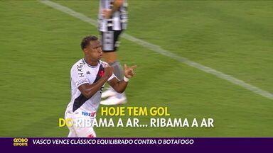 Vasco vence o Botafogo em clássico equilibrado - Vasco vence o Botafogo em clássico equilibrado