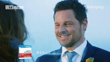 Grey's Anatomy chega no Globoplay - Globoplay adverte: Grey's Anatomy pode trazer uma crise de risos.