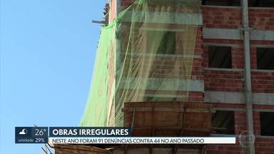 Aumentam as denúncias de obras irregulares no DF - O Conselho de Arquitetura e Urbanismo do DF recebeu este ano 91 denúncias contra 44 no mesmo período do ano passado.