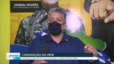 Convenção do PRTB - Ted Wilson é oficializado como candidato a prefeito de Porto Velho.