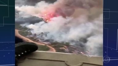 Mortes em incêndios florestais na costa oeste dos EUA chegam a 36 - 87 focos de incêndios estão ativos na região.
