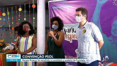 PSOL oficializa candidatura do deputado estadual Renata Roseno - Saiba mais no g1.com.br/ce