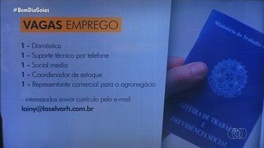 Confira mais vagas de emprego em Goiás - Candidate-se!