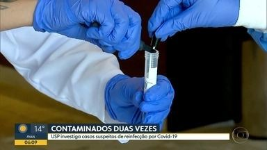 USP investiga 28 casos suspeitos de reinfecção de coronavírus - Desde o final de julho, Hospital das Clínicas tem ambulatório para atender casos de reinfecção.