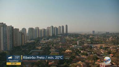 Ribeirão Preto registra temperatura máxima de 35ºC nesta quarta-feira (16) - Cidade segue com tempo seco. Temperatura mínima prevista é de 20ºC.