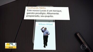 Witzel usava próprias figurinhas em grupos de WhatsApp - Governador afastado é alvo de investigações do MPF sobre fraudes na Saúde.
