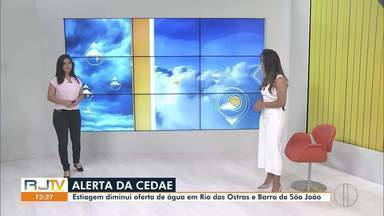 Veja a previsão do tempo para as cidades do interior do Rio - Confira as temperaturas dos municípios para esta quarta-feira (16).