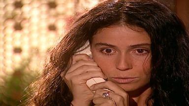 Capítulo de 03/10/2001 - Ali desaprova clonagens de Albieri. Lucas confessa não parar de pensar em Jade. Deusa pressiona Ed a fazer o exame. Nazira propõe casamentos entre Latiffa e Mohamed e Said e Jade.