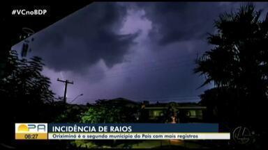 Pará é o estado que mais registrou mortes por raio no Brasil, diz Inpe - Pará é o estado que mais registrou mortes por raio no Brasil, diz Inpe