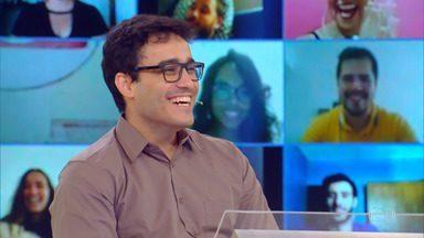 Pedro Xavier inicia desafio do 'Quem Quer Ser Um Milionário' - Participante é de Montes Claros, Minas Gerais