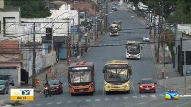 Ônibus circulam normalmente na manhã desta segunda (21) em São Luís - Após paralisarem as atividades nesse domingo (20), em protesto contra a morte de motorista, os rodoviários retomaram as atividades.