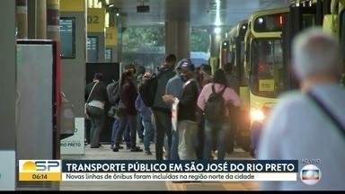 Prefeitura inclui novas linhas de ônibus em São José do Rio Preto - Fluxo de passageiros aumentou depois que a região passou para a fase amarela do Plano São Paulo
