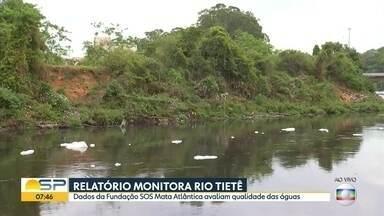 """Rio Tietê abastece cidades, oferece lazer e é atingido pela poluição - Desde 1992, 22 de setembro é o """"Dia do Rio Tietê"""""""