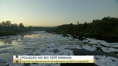 Estudo aponta melhoria na qualidade da água do rio Tietê durante a pandemia - A pandemia teve um efeito benéfico sobre a poluição do rio Tietê, que corta o estado de São Paulo. As análises feitas pela ONG SOS Mata Atlântica mostraram que a qualidade da água melhorou.
