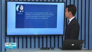 Veja as mensagens enviadas pelos telespectadores no MG2 (Parte 2) - Mensagens podem ser enviadas para (38)98834-3348.