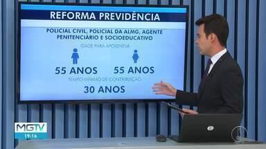 Romeu Zema sanciona novas regras da Previdência Estadual - Servidores que adquiriram direito de se aposentar antes das novas regras, terão condições mantidas.