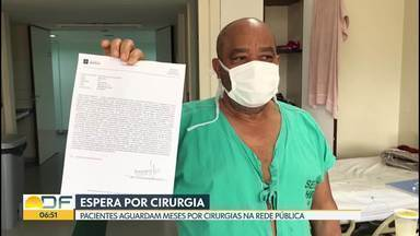Cirurgias eletivas na rede pública devem ser retomadas a partir do dia 29 de setembro - Enquanto isso, alguns pacientes, mesmo com indicação de urgência no pedido da cirurgia, não conseguem fazer o procedimento.