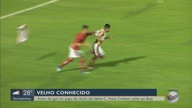 Autor do gol do título do Boa na Série C, lateral Kaio Cristian está de volta ao clube - Autor do gol do título do Boa na Série C, lateral Kaio Cristian está de volta ao clube