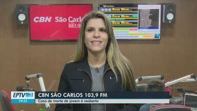 Investigação da morte de estudante da UFSCar é reaberta em São Carlos - Veja as informações com Michelle Jardim, da CBN.