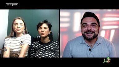 Daniel Viana bate um papo com as cantoras Camila e Rayane - Camila Marieta e Rayane Fortes falam um pouco sobre o seu novo projeto musical