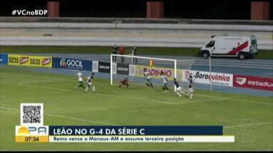 Remo 1 x 0 Manaus: assista aos melhores momentos da vitória azulina - Remo 1 x 0 Manaus: assista aos melhores momentos da vitória azulina