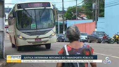 Justiça determina retorno das atividades do Consórcio Sim na capital - Empresa tem três dias pra confirmar retorno dos veículos às atividades nas ruas da capital.