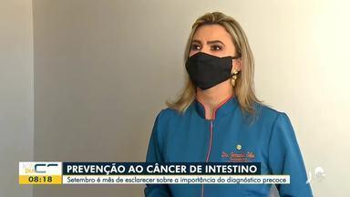 Especialistas alertam para a prevenção do câncer de intestino - Saiba mais em g1.com.br/ce