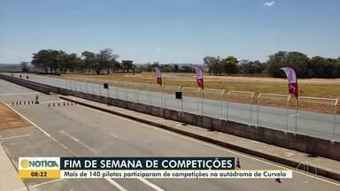 Autódromo de Curvelo: Mais de 140 pilotos participam de competições nesse final de semana - A próxima etapa da competição acontece em novembro.