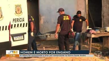 Após ameaças, jovem é morto no bairro Santo André; comerciante é principal suspeito - Cláudio Josias da Cunha Azevedo era irmão de um velho conhecido da polícia: 'Bagatinha', que já foi detido várias vezes por prática de furtos.