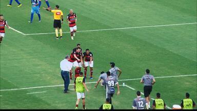 Campinense joga bem e vence o Afogados com dois gols de Fábio Júnior, na Série D - Ídolo raposeiro voltou a ser decisivo e decidiu para o time rubro-negro