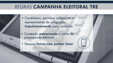 Anúncios pagos na internet e mensagens em massa são proibidos na propaganda eleitoral - Anúncios pagos na internet e mensagens em massa são proibidos na propaganda eleitoral