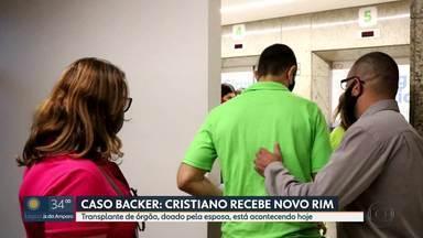 Vítima da Backer recebe novo rim doado pela esposa - Cirurgia foi realizada hoje de manhã, em BH